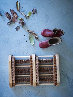 Wooden Boot Cleaner  |  Cox & Cox