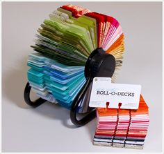 Colored Rolodex from Envelopments