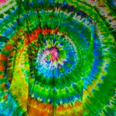 Tie dye sheets. Simple! You will get dye everywhere :)
