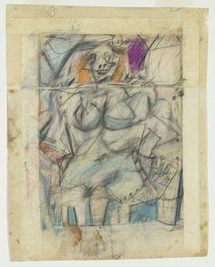 De Kooning drawing