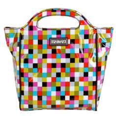 It's an insulated lunch bag, but so cool we'd carry it like a purse