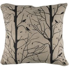 Beautiul Bird Pillow.