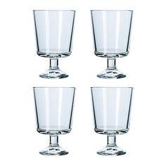 BARSK Wine glass, clear glass