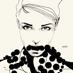 Manuel Rebollo fashion illustration