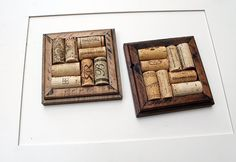 Crafts for Wine Corks  DIY Coasters  reclaimed wood
