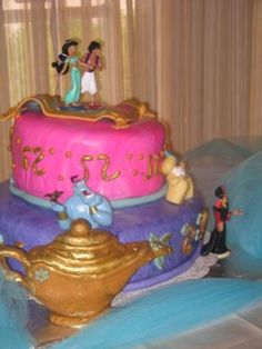 Jasmine & Aladdin Birthday cake!