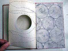 libraries, cecilia levi, artists, art journals, paper, altered books, stitch, pet pictures, artist book