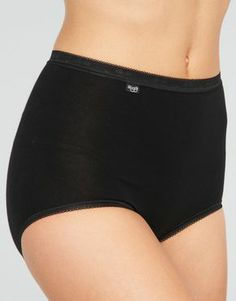 Great cotton undies with just a little bit of stretch!