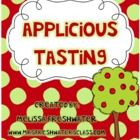 FREE: This applesauce tasting activity can be used with K-2nd grade. There are pieces to complete chart,data analysis, and adjective think map. Have an a... appl theme, applici activ, septemb, applici freebi, school fall, teach, school idea, fall idea, classroom freebi