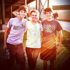 John luke,Sadie,and Cole Robertson! Cole is soo cute!
