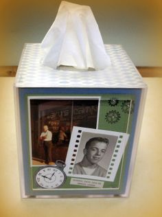 Another Chance to Stamp: Acrylic Tissue Box Project