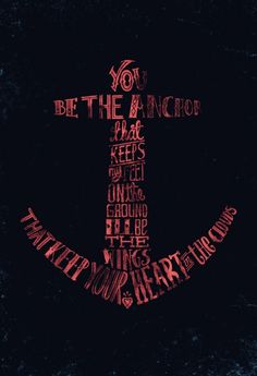 Anchor, love this song.