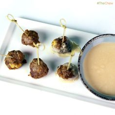 Swedish Meatballs by Michael Symon! #TheChew