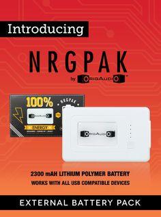 NRGPAK External Battery Pack