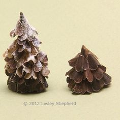 Mini pine cone trees for village houses. can make to size of our houses.View Full-Size
