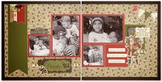 """Yuletide Carol: 12"""" X 12"""" Merry and Bright Layout"""