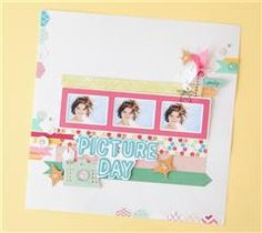Scrapbook your favorite photo in this snap happy layout!