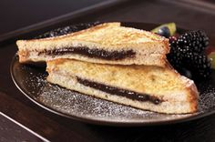 Marcus Samuelsson's Peanut Butter-Chocolate French Toast recipe #breakfast #brunch