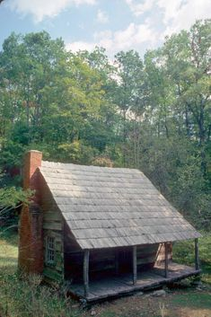 Hannah Cabin in Great Smoky Mountains NP, Tennessee