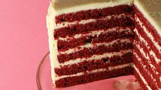 This red ribbon cake from Food o 'del Mundo looks delicious!