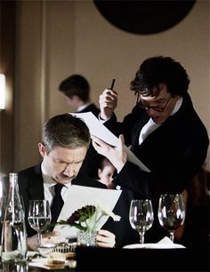 Sherlock and John. The Empty Hearse.