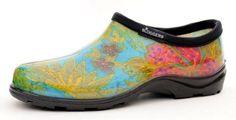 Sloggers 5102BL08 Women's Midsummer Garden Shoe, Size-8, Blue