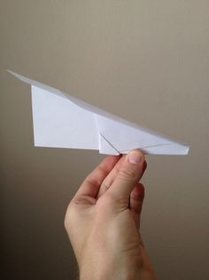 How to Make a Simple Paper Airplane That Flies Great