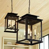 Calisse 4 Light Lantern - Hangs in the entry way