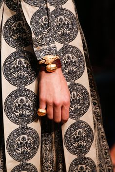 Valentino Spring 2014 -- they are reading my mind with that pinkie ring
