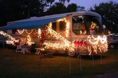 Celebrating Christmas #RV style Check out hartranchresort.com for the latest in RV camping fun!