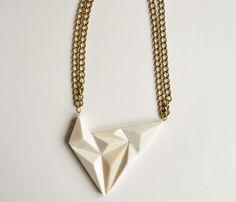 #bijoux #collier #géométrique