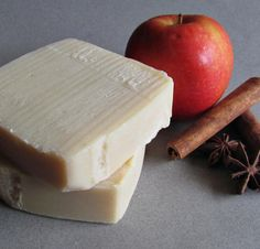 Baked Apple Cold Process Soap