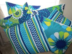Mix & Match Indoor/Outdoor Pillow Covers...Check them out on Etsy!  http://www.etsy.com/listing/102785871/mix-match-indooroutdoor-richloom
