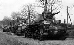 A column of Czechoslovak tank LT vz. 35 before being sent to Germany. In the foreground, a tank with registration number 13,917, entered service with the Czechoslovak Army in 1937. #worldwar2 #tanks