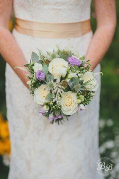 Natural wedding bouq