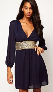 Perfect pear shaped party dress