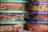 plastic containers, meal planning, freezer meals, freezer recipes, food storage, freezer cooking, slow cooker meals, cooking tips, freezer meal recipes