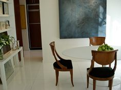 <3 klismos chairs