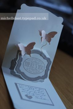 Michelle Last using the Stampin' Up! Exclusive Pop 'n Cuts Card Base, the Deco Label Insert and matching Deco Label Framelits - Inside-pop-n-cuts