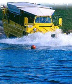 No visit to Boston is complete without submerging yourself on a Duck amphibious boat truck trip!