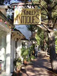 small town, seas, absolut charm, antique stores, california, carmelbythesea, places, spot, antiques