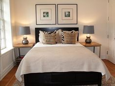 side tables, small bedrooms, guest bedrooms, end tables, small spaces, master bedroom, guest rooms, bedroom designs, small place