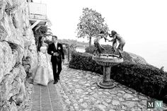 Brunna & Jo from Monaco and Brazil. Wedding celebrated at Chateau de la Chevre d'Or in Eze. Tags: Wedding photographer Chèvre d'Or, wedding photography Eze © 2013 Wedding photography by Manuel Meszarovits