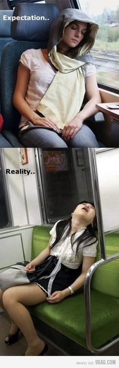Haha this is why I can't sleep in a public place