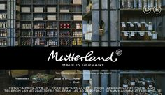 """mutterland is the place to go if you want to buy delicious products """"made in Germany"""". They also have a few tables in the shop for a lunch/brunch/coffee. They have a shop in Eppendorf and one  near the train station. It is a very interesting place to visit if you're interested in corporate design - the logo is very cute and everywhere!"""