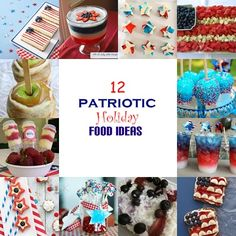 12 patriotic food ideas