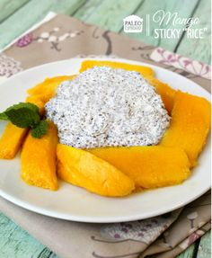 Paleo Mango Sticky Rice