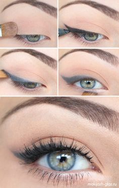 beauty tutorials, eye makeup, cat eyes, eyebrow, green eyes, everyday makeup, winged eyeliner, everyday look, eye liner