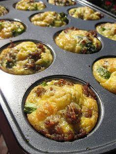 Breakfast Omelet Muffins