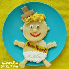 Kitchen Fun With My 3 Sons: Baby New Year Pancakes
